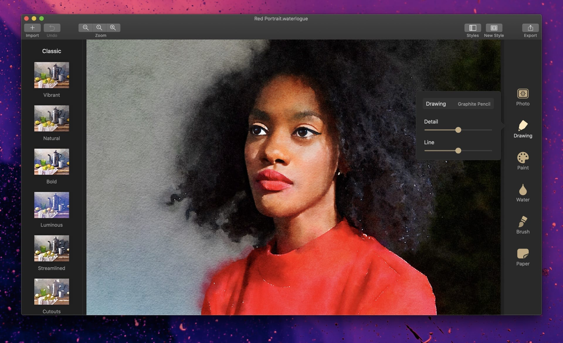 Waterlogue for macOS